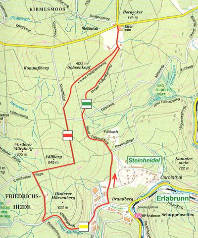 Bergstadt Eibenstock Im Erzgebirge