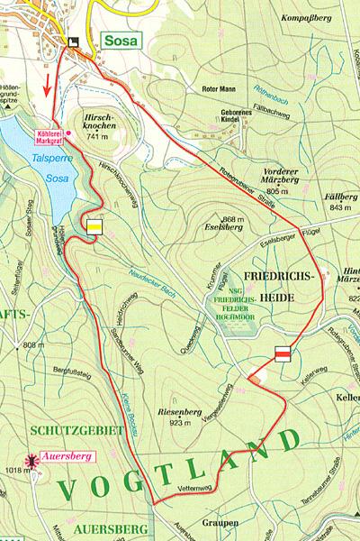 Waldgaststätte & Herberge Rote Grube Sosa • Herberge
